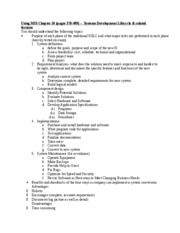 Exam 2 Study Guide- Chapter 10