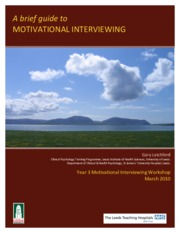 Motivational Interviewing brief guide