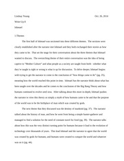 ethics and the environment write up 8 essay