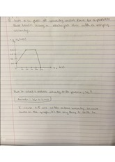 physics homework1- graphing motion