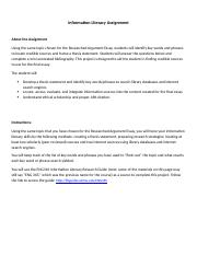 information literacy assignment(3).docx