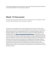 Week 10 Discussion Gangs.docx