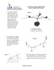 Statics Example Study Problems for Test #1 (2013)(1)