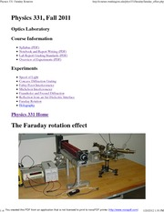 Physics 331_ Faraday Rotation