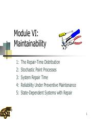 Module VI_ Maintainability.pdf