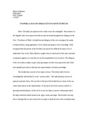 Final Draft of Allegor-Divided line