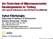 outline is good Turkish-Economy