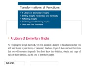 FUNCTION L3 _TRANSFORMING