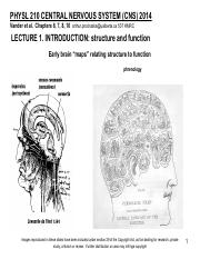 210CNS 2014 Lecture 1