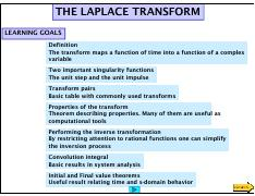 Laplace Transforms Refresher [Compatibility Mode]