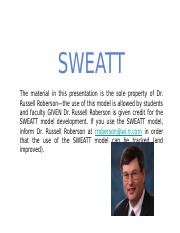 E-SWEATT Model_Dr._Russell_Roberson_Developer_Plain_Edition