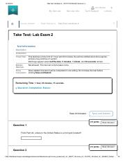 Take Test_ Lab Exam 2 – 201710_15619 Earth Sciences I (.