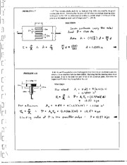 15_Mechanics Homework Mechanics of Materials Solution