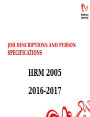 Job Descriptions and Person Specifications 2016-2017.pptx