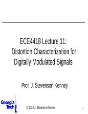 ECE4418+Lecture+9+-+Distortion+of+Modulated+Signals.pptx
