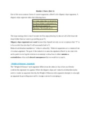 Module 1 Notes_ Part 3_Phil 260