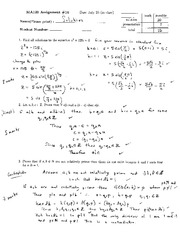 MA121 imaginary numbers containing z assignment and solutions