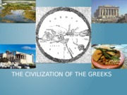 Lesson 3 - The Civilization of the greeks class note