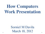 How Computers Work Presentation