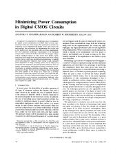 Minimizing Power Consumption in Digital CMOS Circuits.pdf