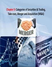 Chapter_3_-_Categories_of_Securities_Trading_Take-Over_Merger_Acquisition