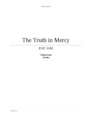 a mercy research paper