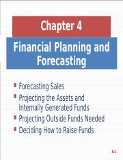 4. Financial Planning and Forecasting.ppt
