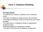 PPT_Class_1_Database_Modeling