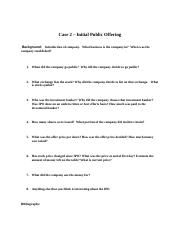 Case 2 - File for Students to use in Completing Case-