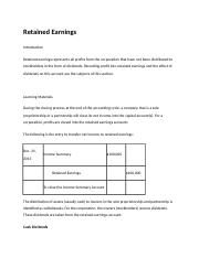 Retained Earnings.docx