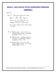 Ch3-NGN111  EXTRA HOMEWORK PROBLEMS