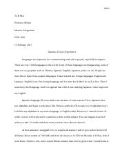 Essay_1_ Memoir Assignment
