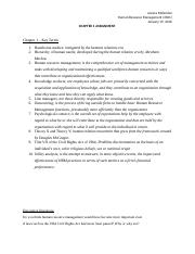 HRM KeyTerms DQs Chapter 1.docx