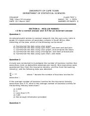 STATS test 1 2007 - PAPERS.doc