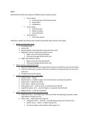 Lab 4 and 5 study guide for test