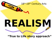essays realism and naturalism