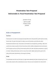 Penetration Test Proposal-.docx - Penetration Test