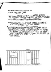Homes and Interiors 7th edition Unit 3 Ch.10 Wall Frame Worksheet