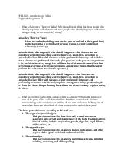 PHIL160 (Fall 16) Ungraded Assignment#7 (Answers) (2)