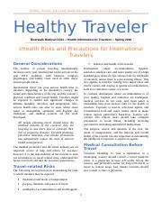 WMP E- Healthy Traveler.docx