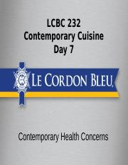 c232 day 7 Contemporary Health Concerns (1).pptx