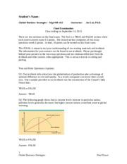 """mgt 448 week 5 nike debate """"nike: the sweatshop debate"""" at the end of part 2 mgt 448 week 5 learning team assignment final global business plan paper."""