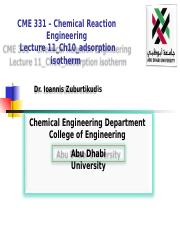 Lec11_CME331_Chap10-Adsorption Isotherm.ppt