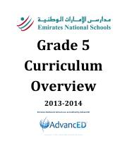 G5-Curriclum-Overview