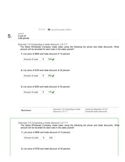 chapter 8 quiz - QUESTION 1 Which of the following statements is ...