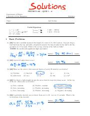 Quiz1PracticeSolutions