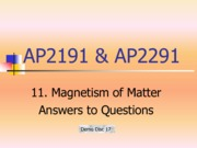 11_Magnetism of Matter_answers