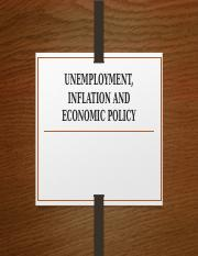 6 UNEMPLOYMENT AND INFLATION.pptx