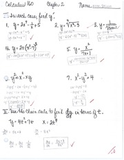 Chain Rule Test