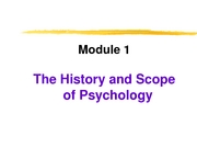 psychology module 1 notes